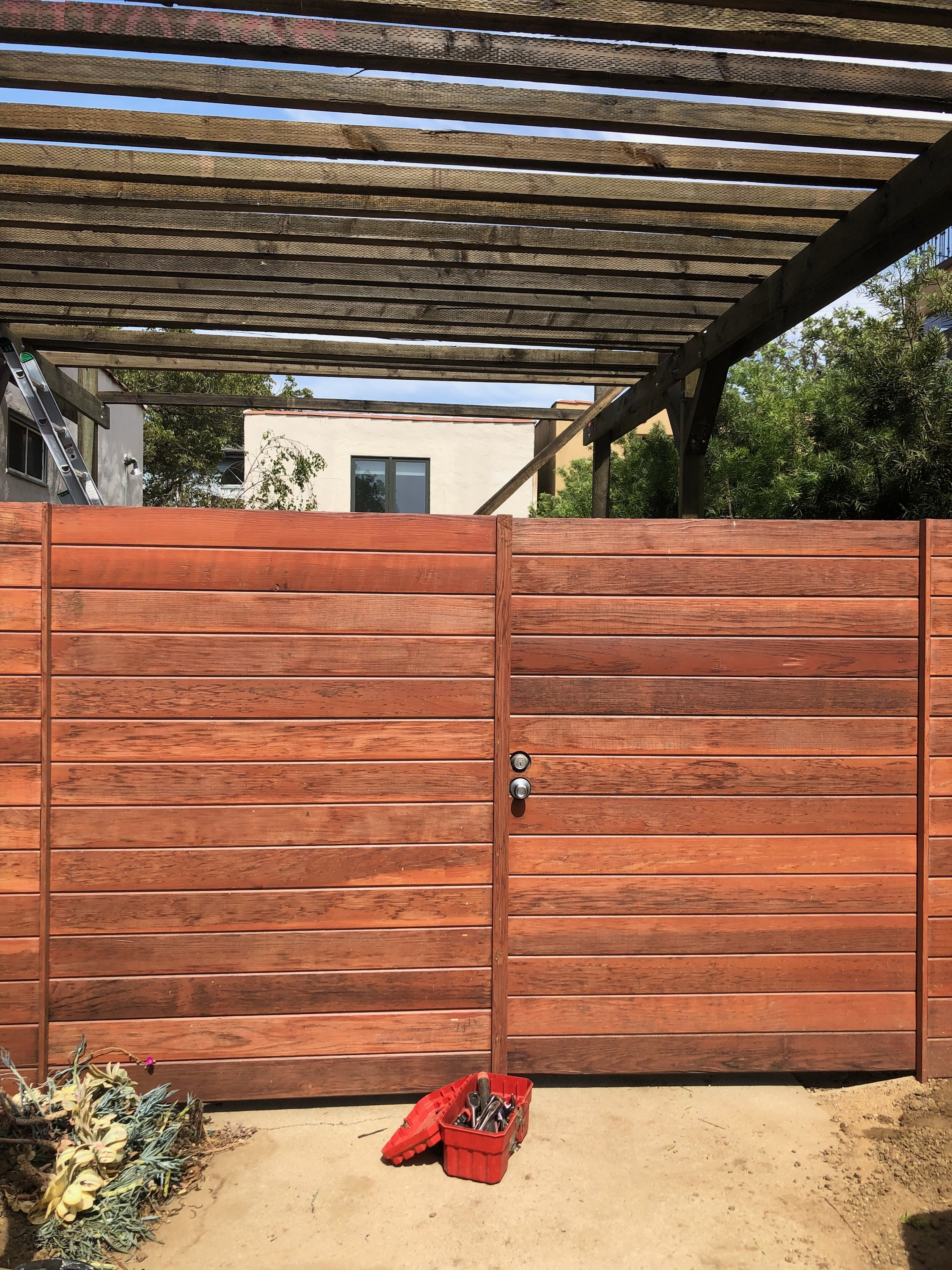 Tongue and Groove Pergola Los Angeles Fence Builders.jpeg