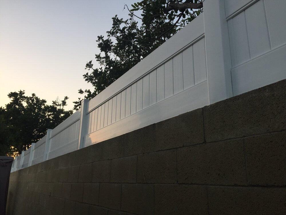 Vinyl wall extension Los Angeles Fence Builders.jpg