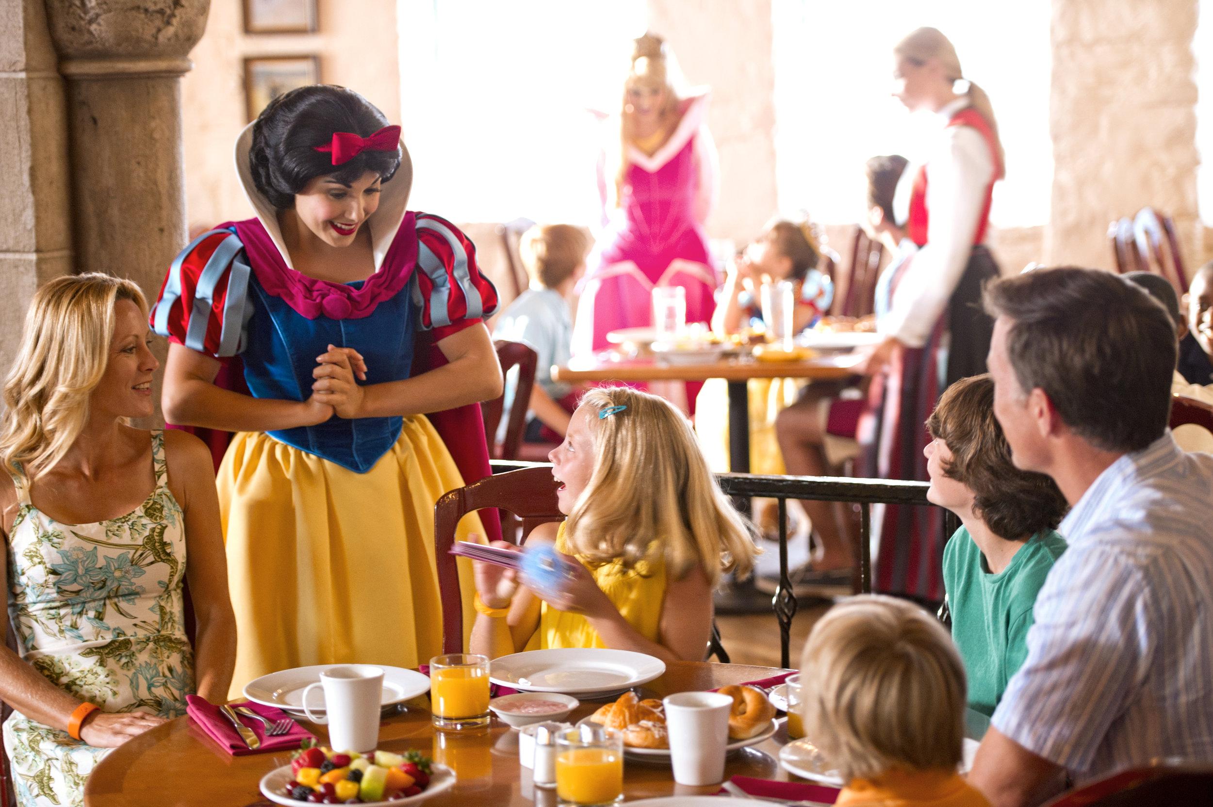 Princess Character Dining