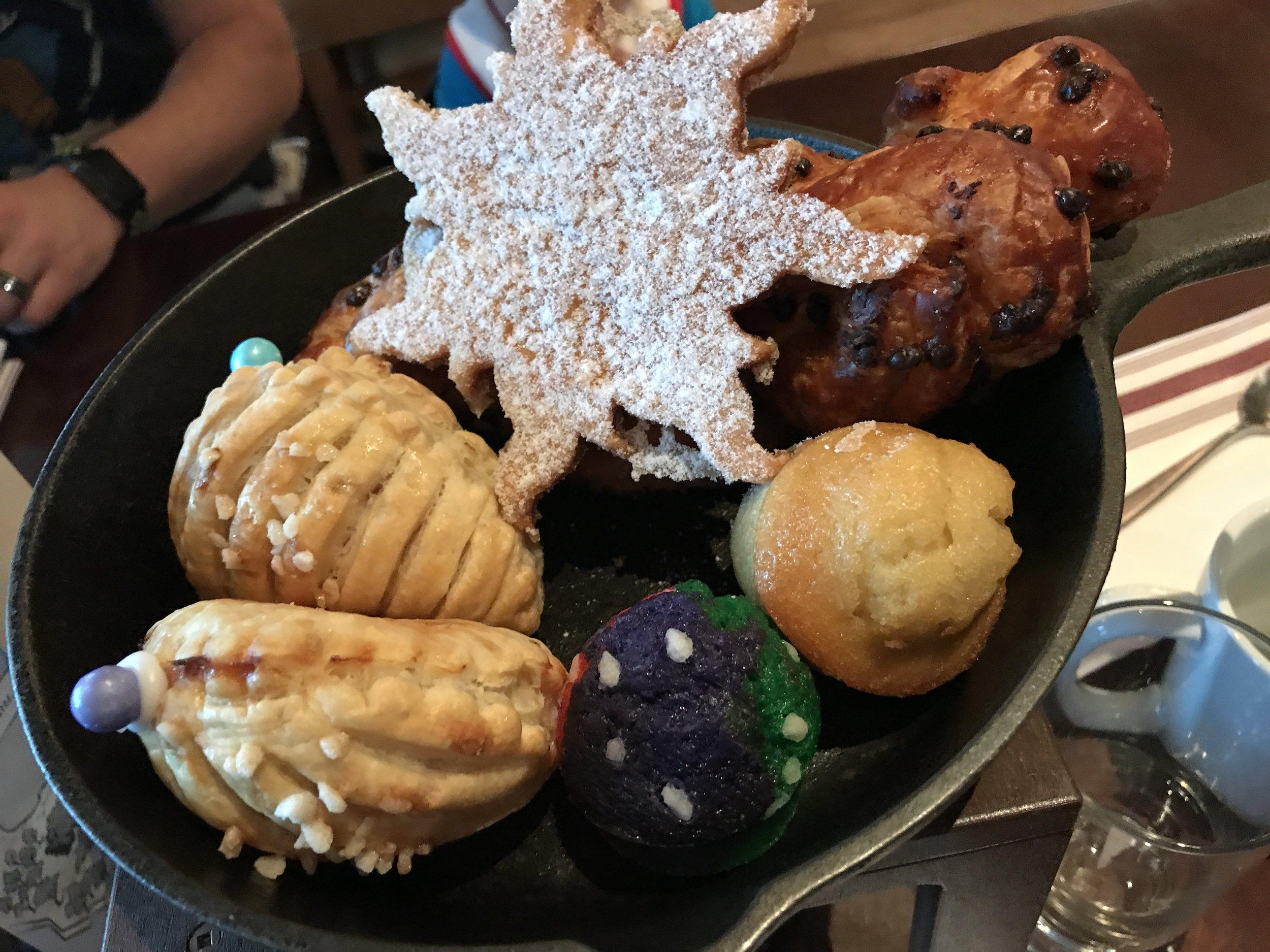 Bon Voyage Adventure Breakfast Pastries