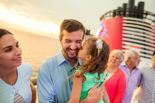 Daddy Daughter on Disney Cruise