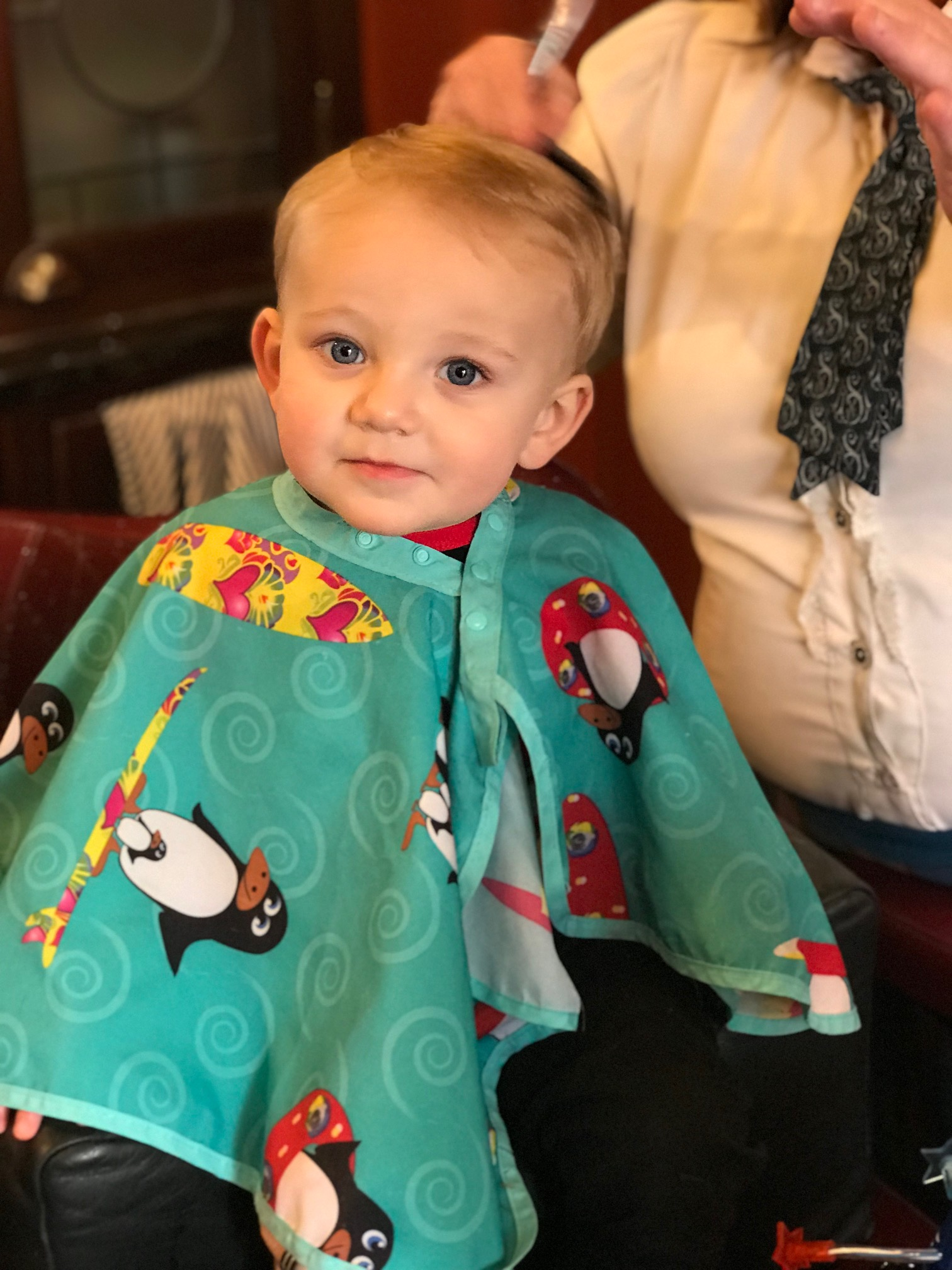 Baby's Second Haircut in March 2018