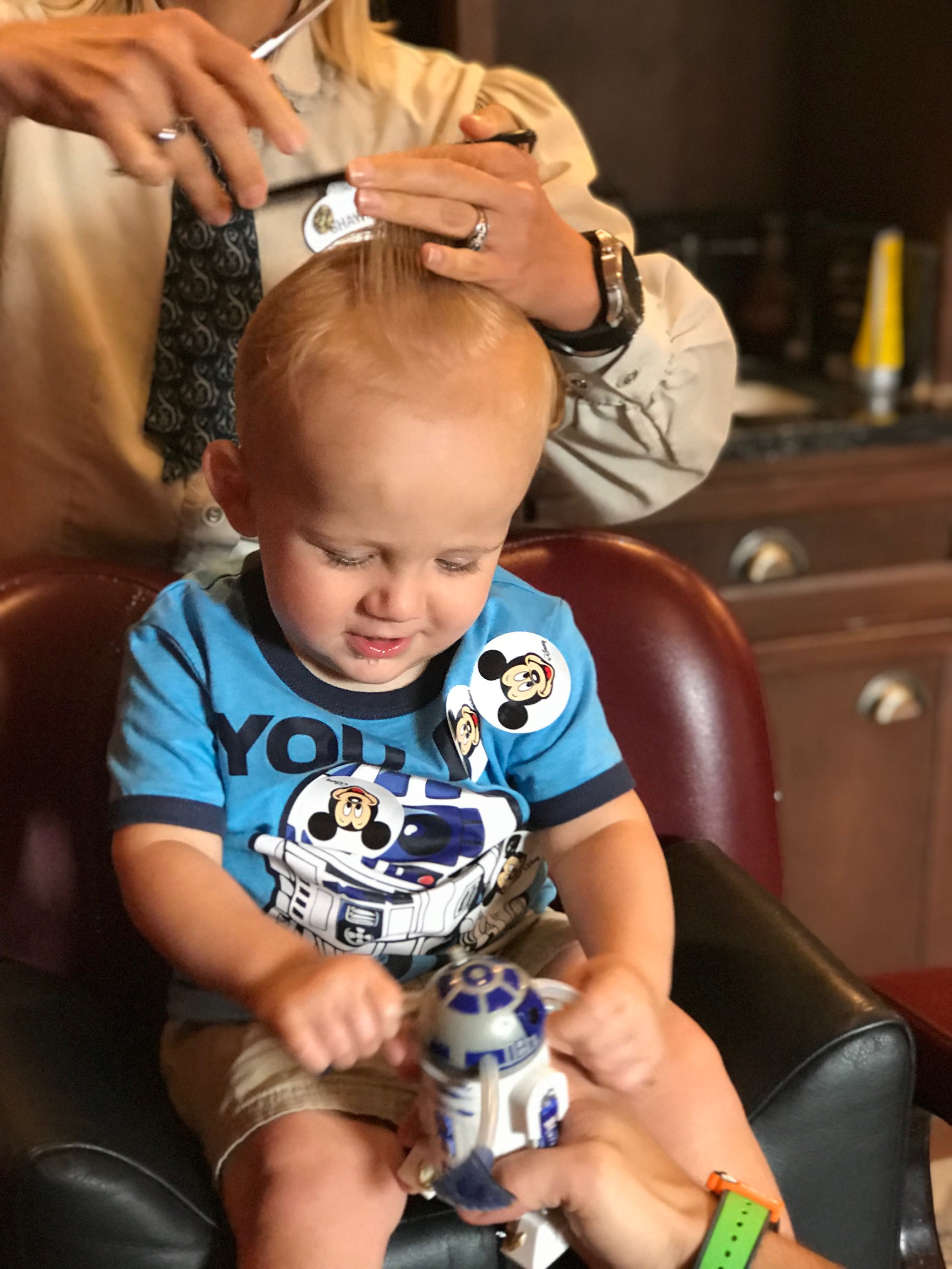 Baby's First Haircut at Disney