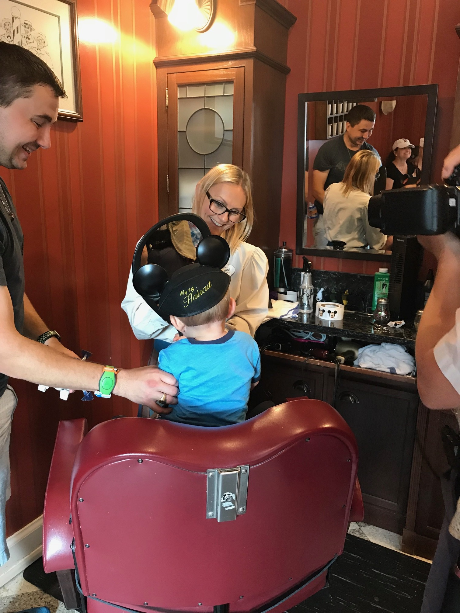 Baby's First Haircut at Harmony Barber Shop
