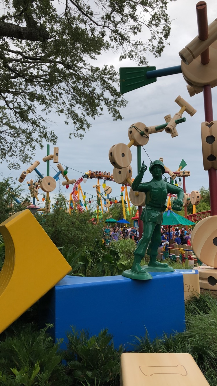 Toy Story Land Army Men