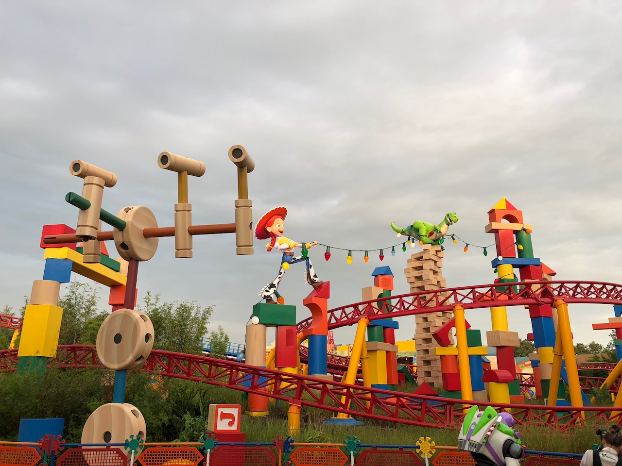 Jesse in Toy Story Land