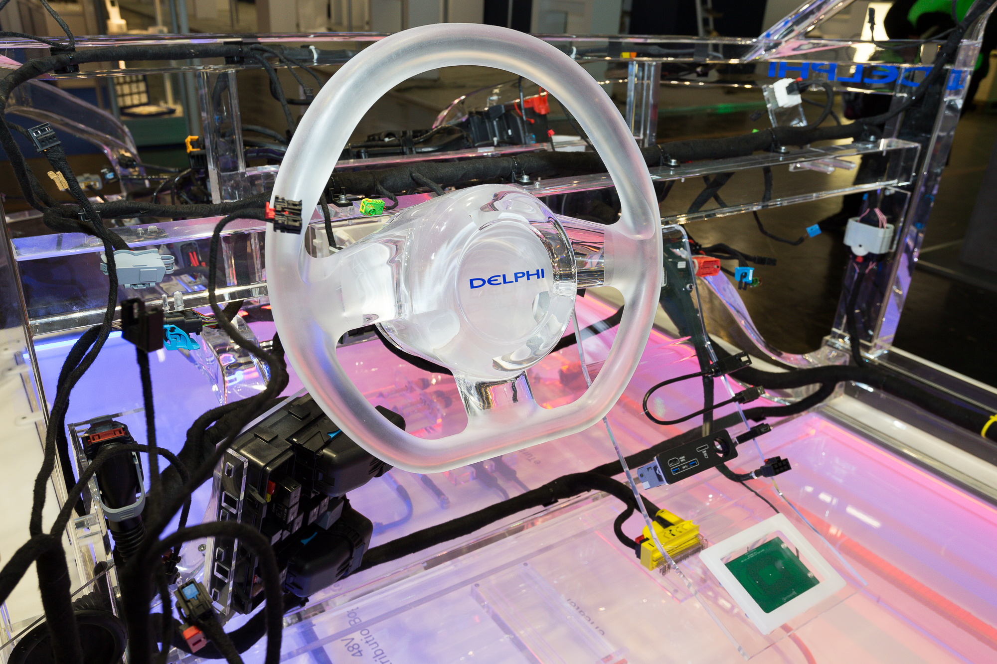Copy of Delphi electric car system manufactured PCBA