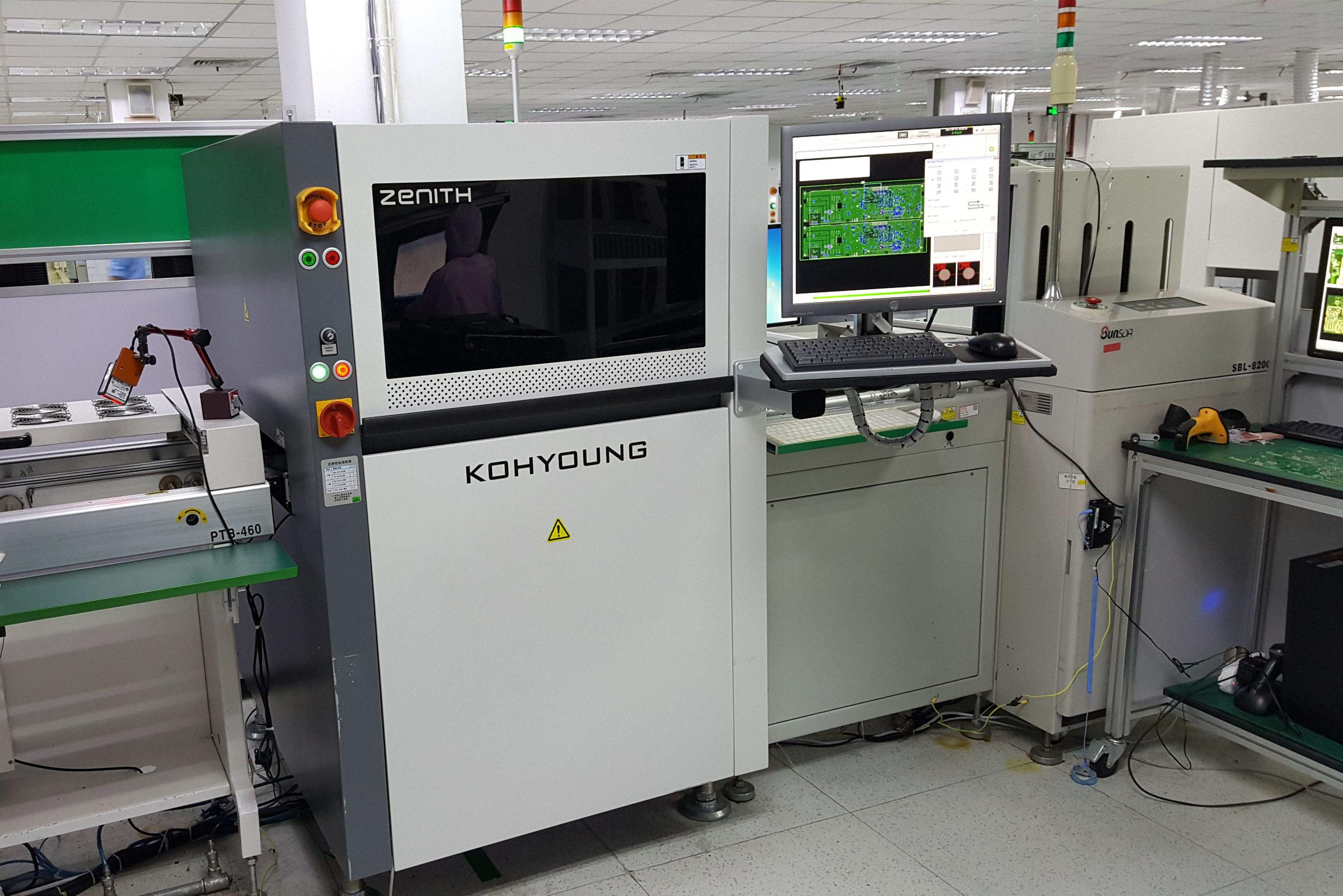 3D自动光学检测设备