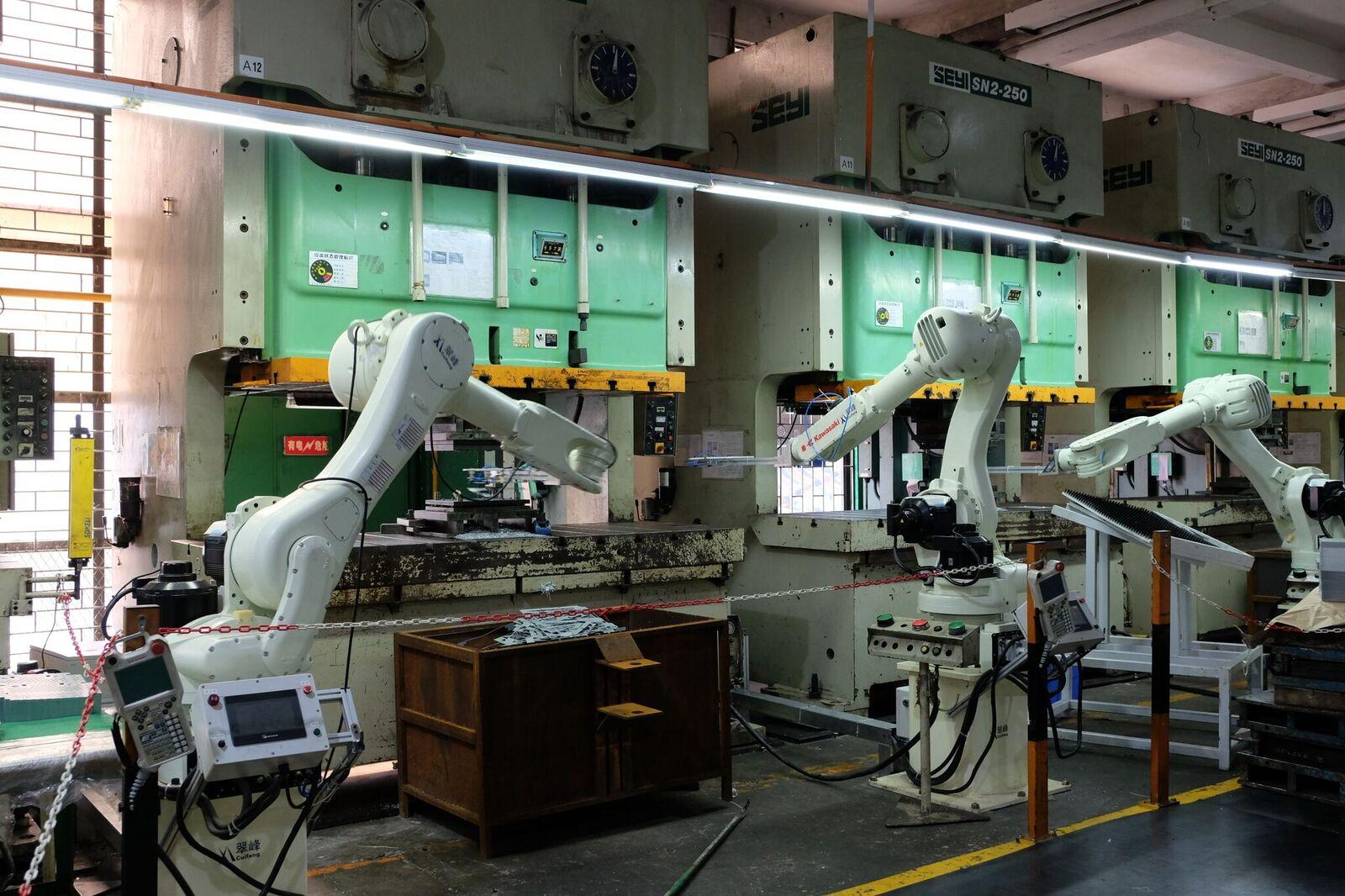 机器人臂组装