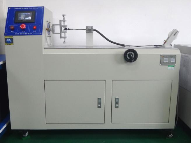 Twisting tester for cable wire testing