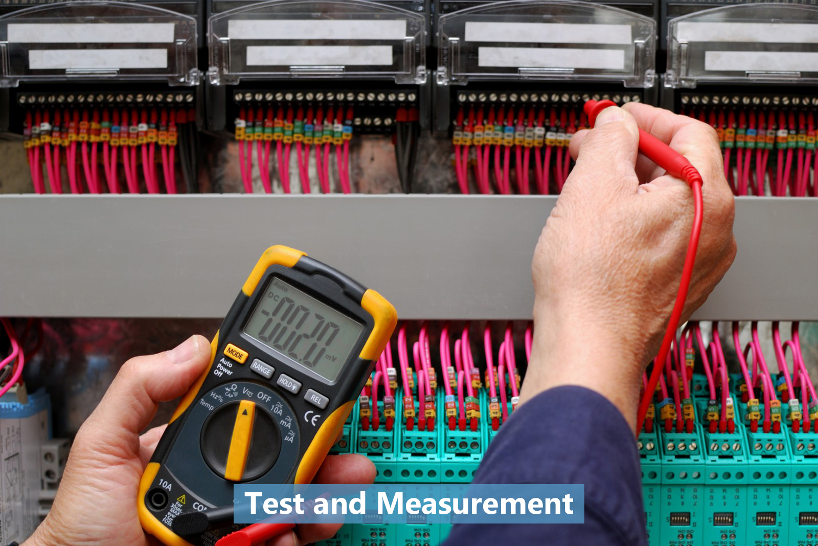 Test and Measurement Applications Manufacturing