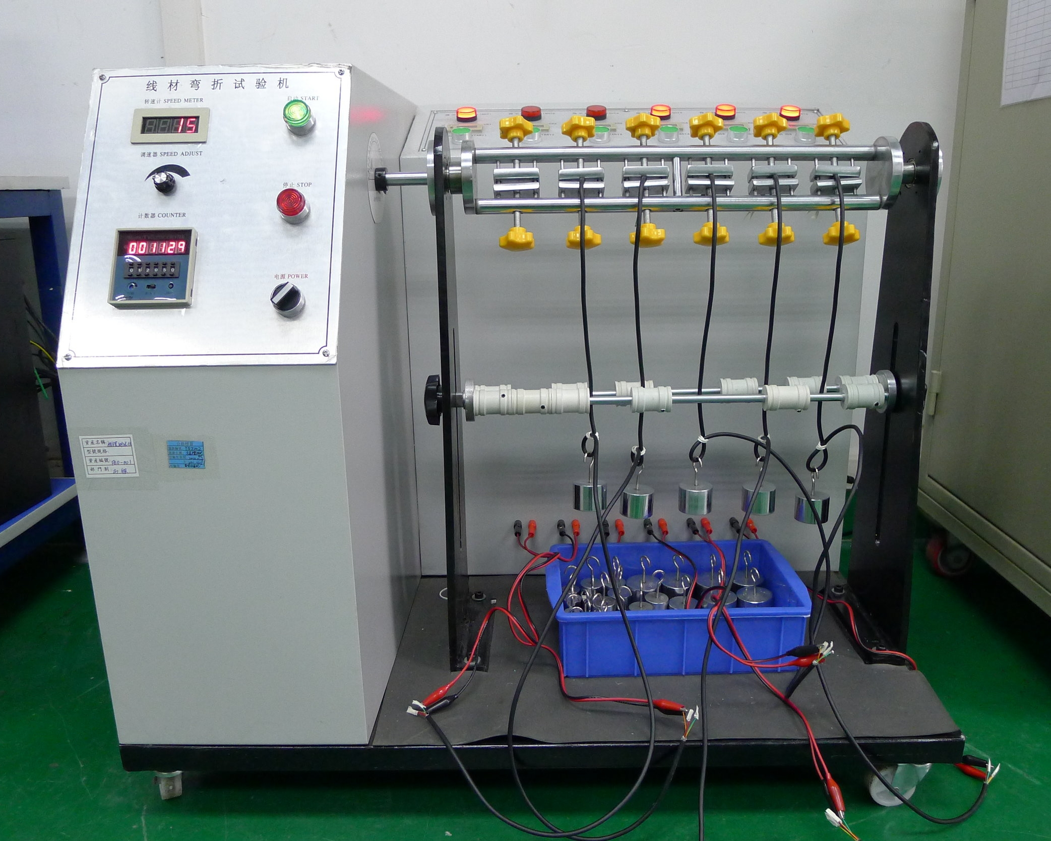 cable assembly and wire harness manufacturing cable testing
