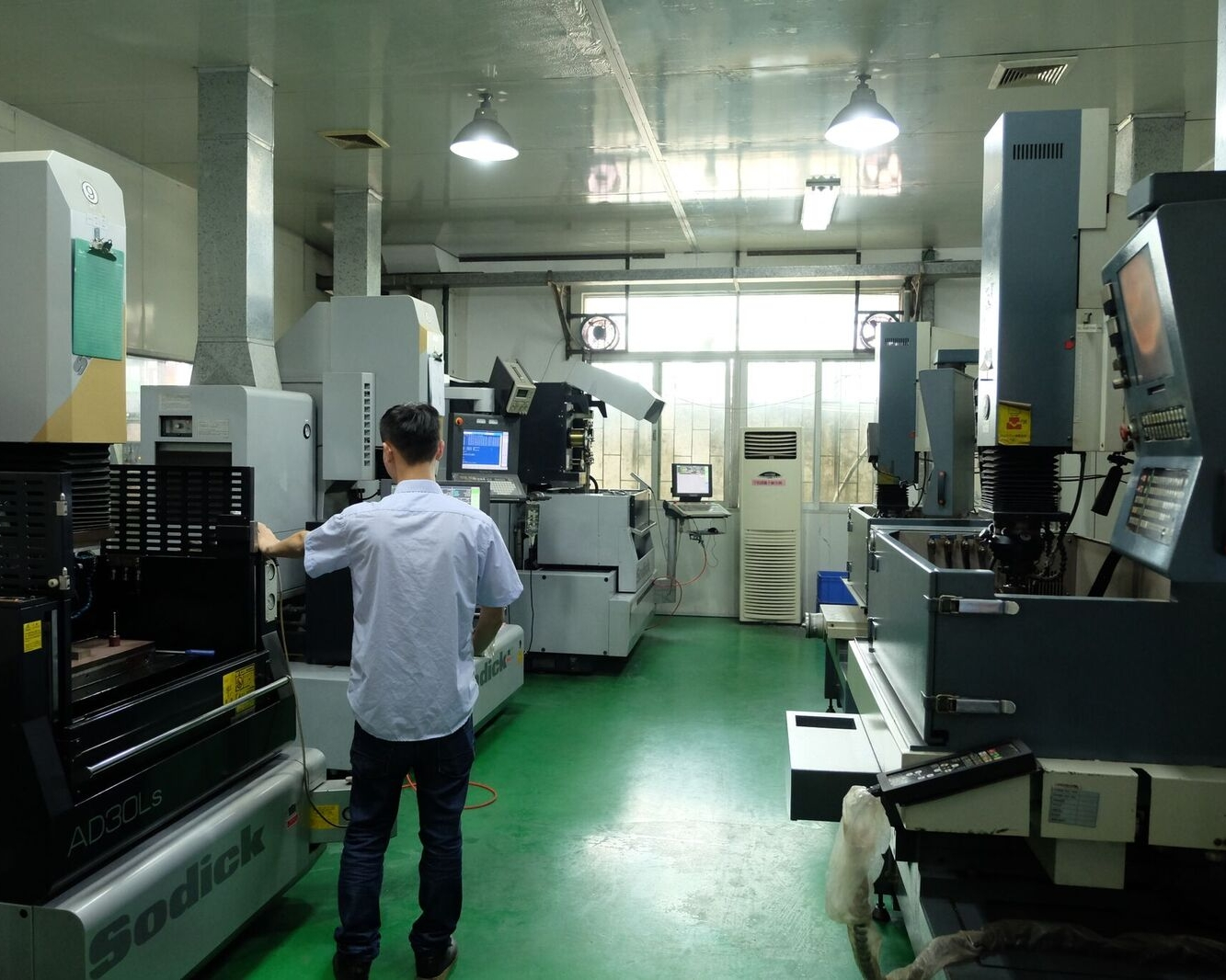 electronic contract manufacturing equipment room