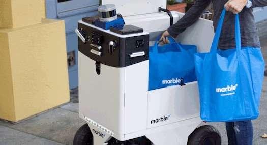Image courtesy: Marble Robotics
