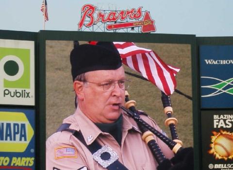 Turner Field 9-11 remembrance ceremony.JPG