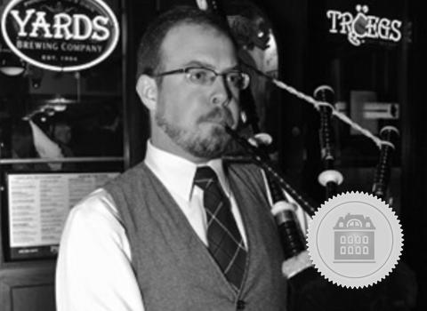 Sean O'Donnell, Ohio bagpiper for hire
