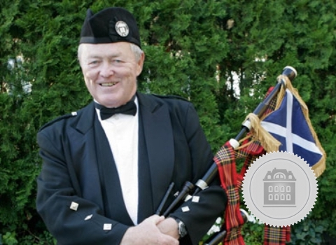Kevin Grace, New York bagpiper for hire