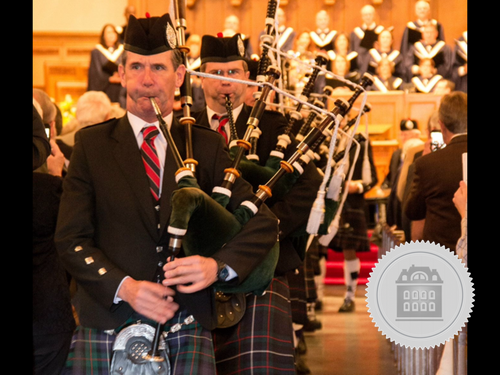 Don Shannon, bagpiper for hire