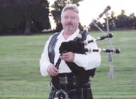 Ian Rankine, bagpiper for hire