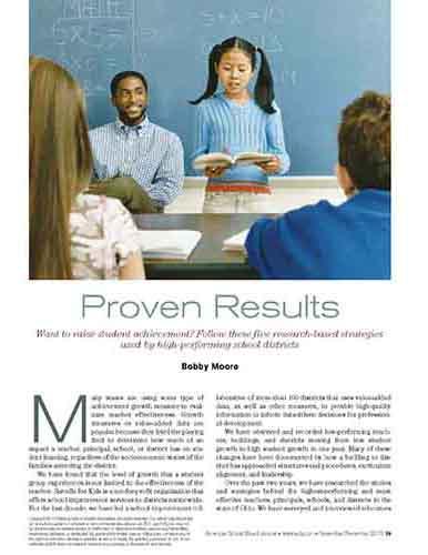 Proven Results    American School Board Journal