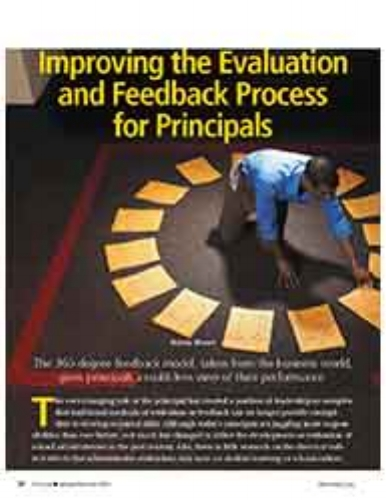 Improving the Evaluation and Feedback Process for Principals    National Association of Secondary School Principals