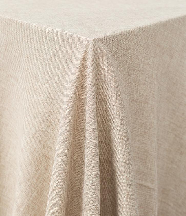 Oatmeal Burlap Tablecloth