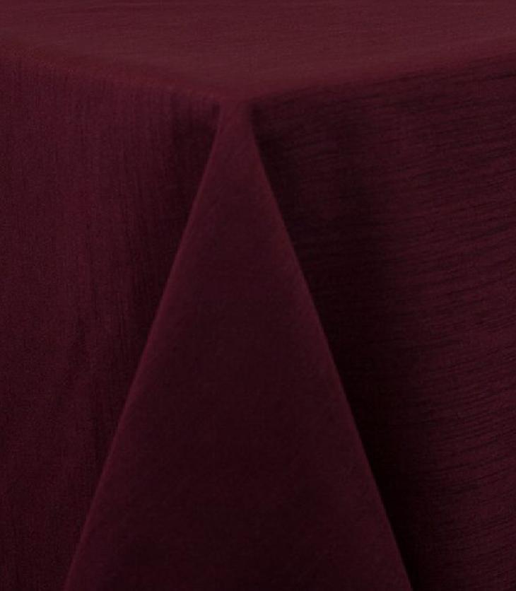 Burgundy Raw Silk