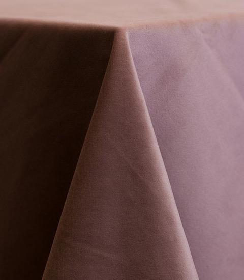 Rose Velvet Linens