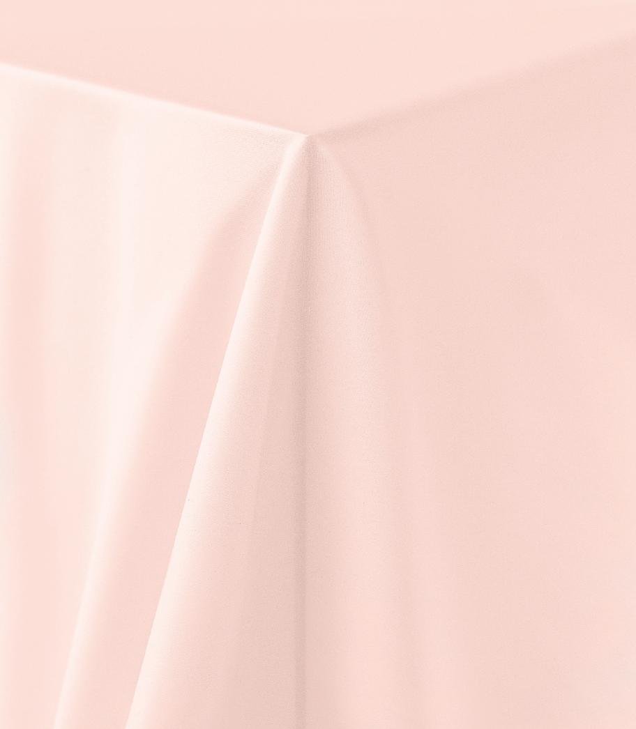 Peach Matte Satin Tablecloth