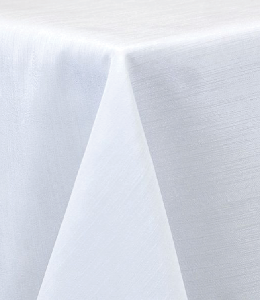 White Raw Silk