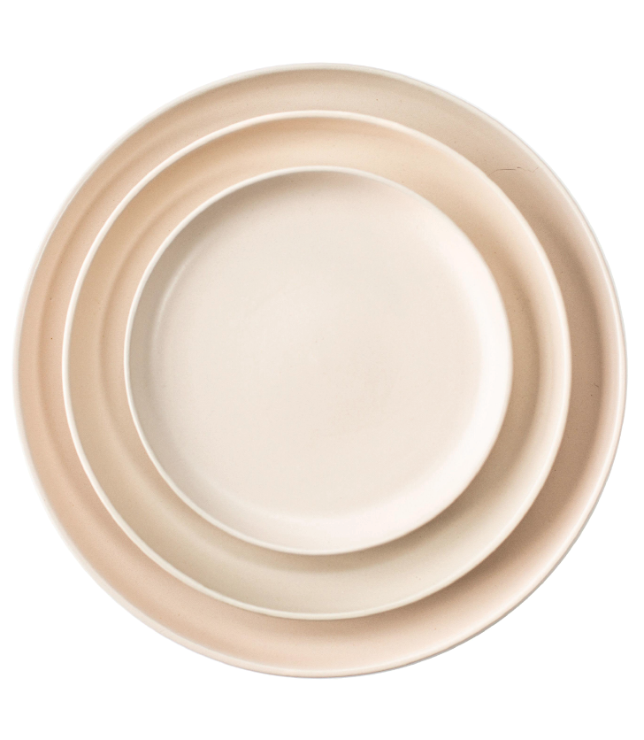 Nude Ceramic Plate Collection