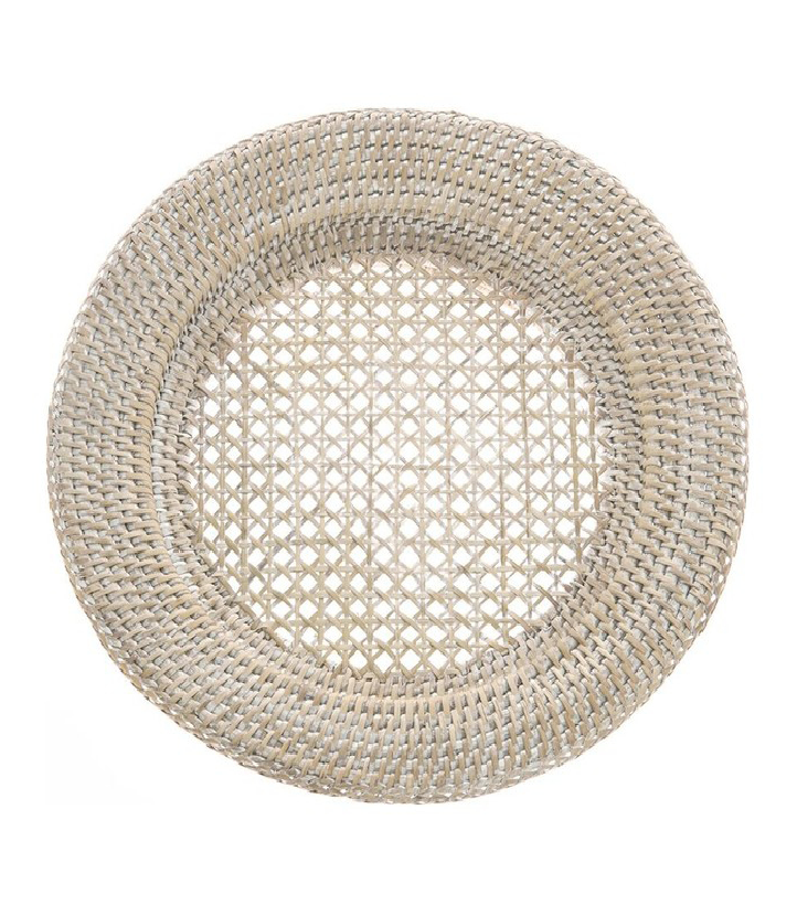 Cane Rattan Charger