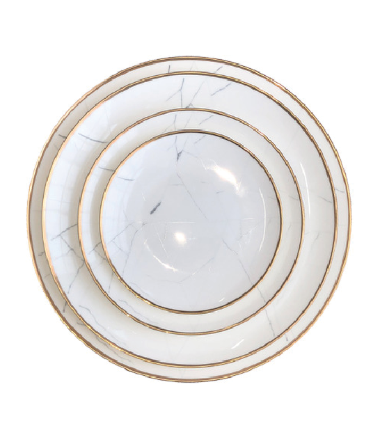 Marbled Plate Collection