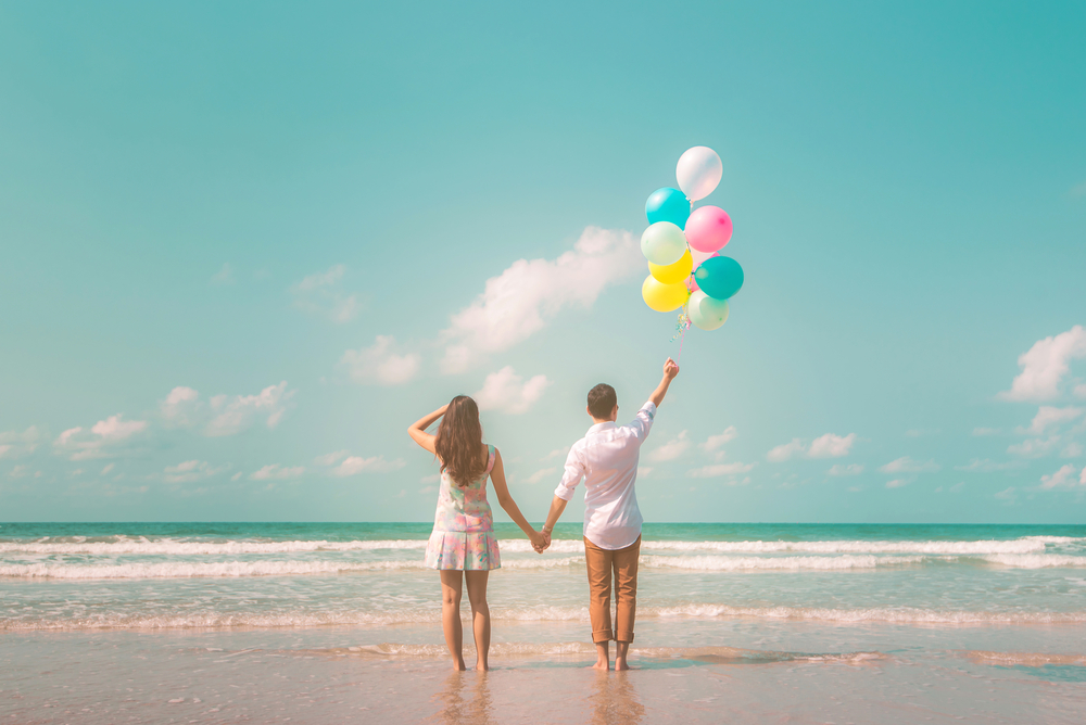 Balloons - Balloons in spring pastel colors are a great prop idea, whether tied up in a portion of your frame or held for a more lifestyle-esque shoot.