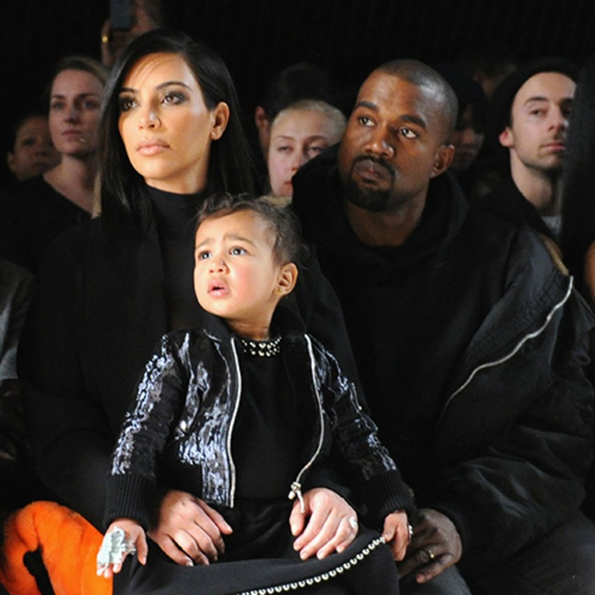 North West Killed It As a Flower Girl This Weekend