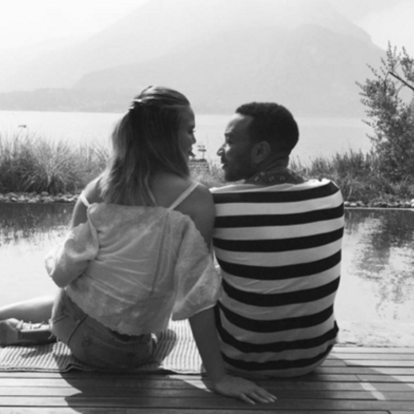 Chrissy and John  Recreate 'All of Me' Video