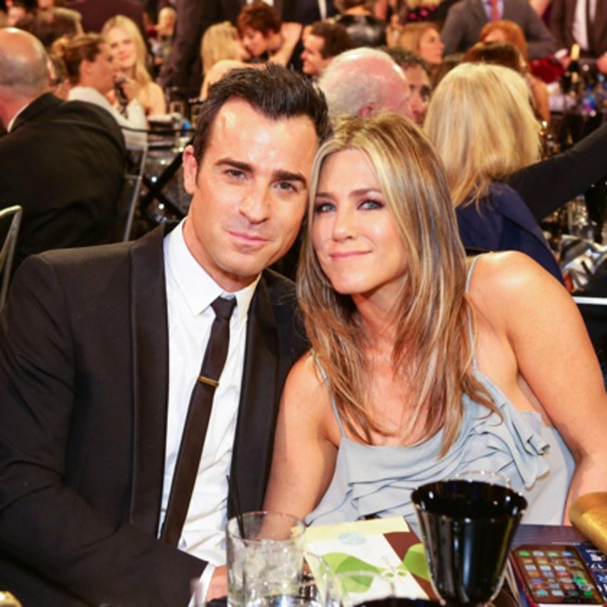 Justin Theroux Shares Photo Of Jennifer Aniston