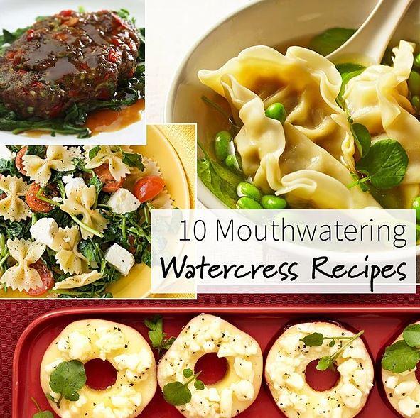 10 Mouthwatering Watercress Recipes