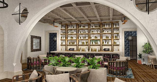 Maximon. A latin inspired restaurant  coming to the Four Seasons Baltimore this fall. It's gonna be a looker! (And yes that's a wall of tequila)  #interiordesign #hospitalitydesign #patricksutton #restaurantdesign #latinamerican #inspired #underconstruction #comingsoon #cityneedsit #atlasrestaurantgroup #tellingstories #storiedinteriors #makingtheworldbeautiful