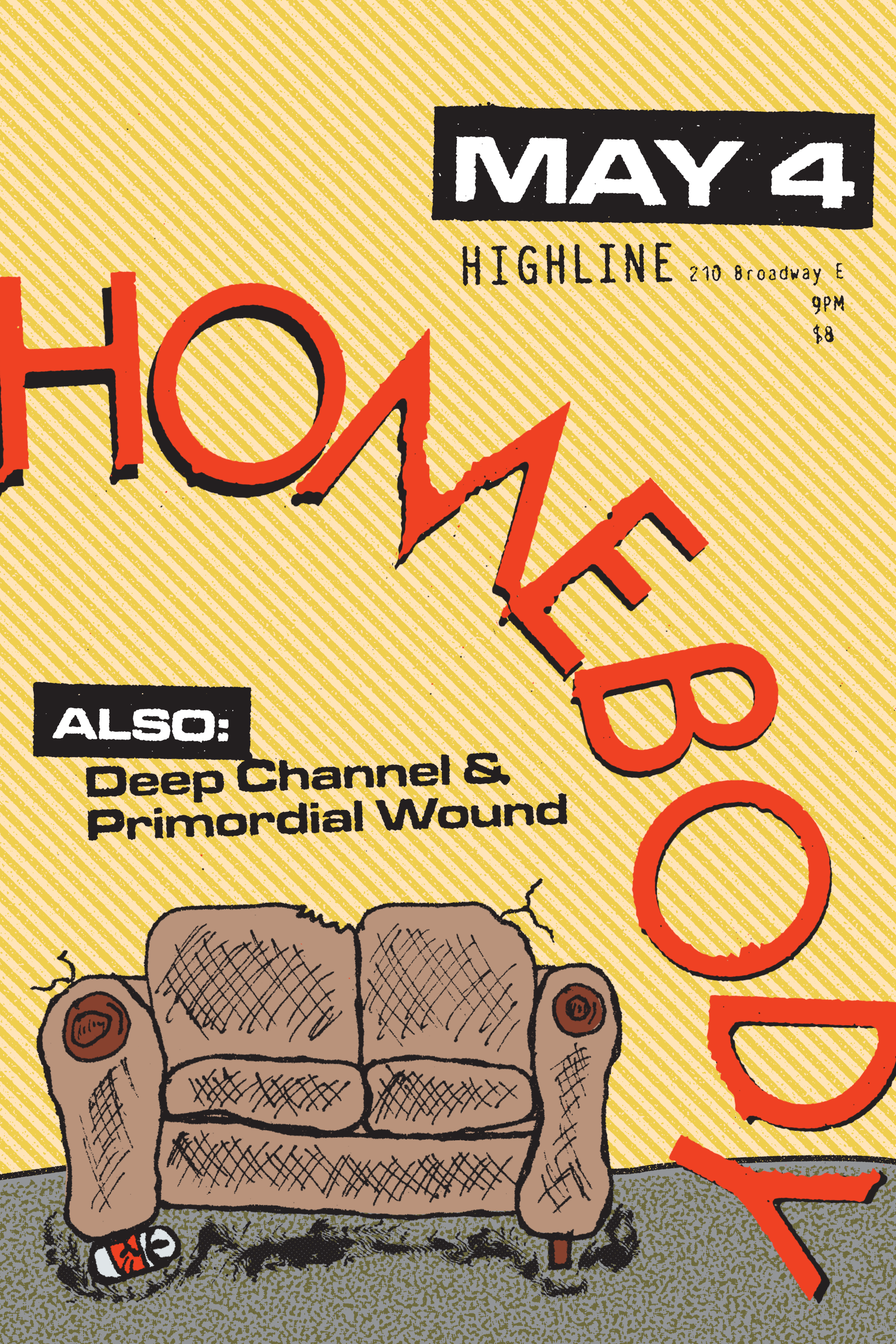 Homebody Poster