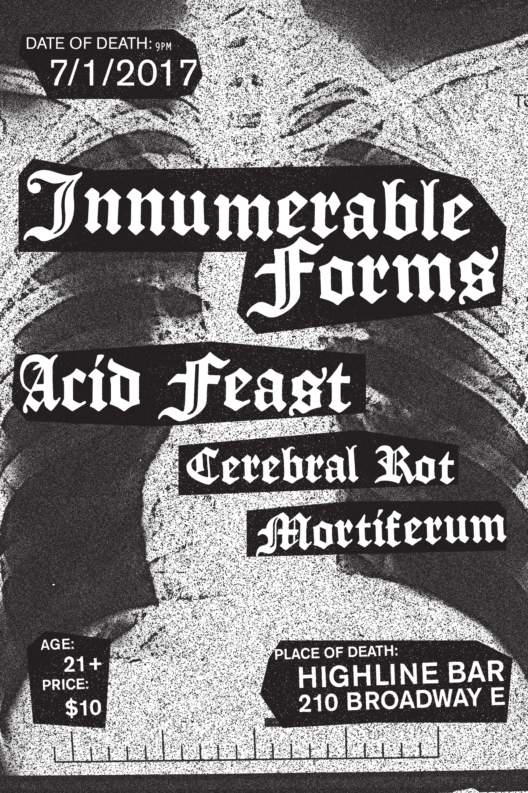 Innummerable Forms Poster