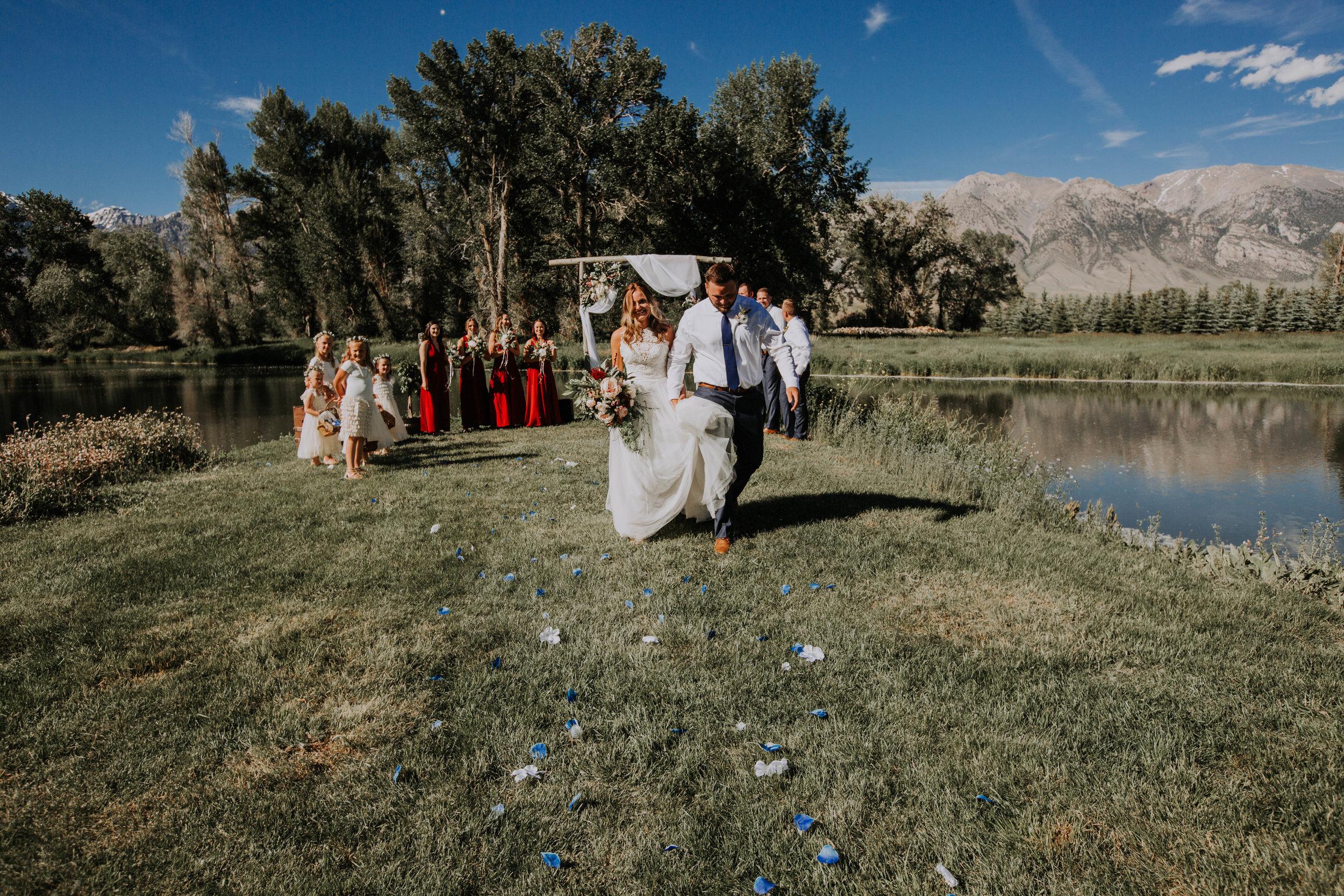 Mackay Idaho Wedding venue   Idaho Wedding