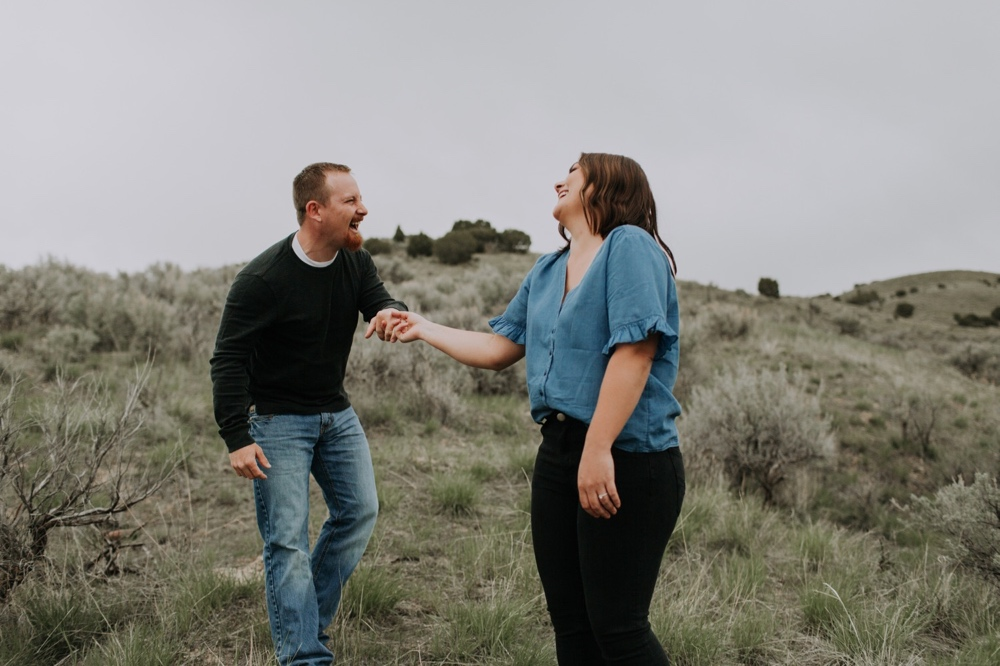 Boise Engagement photos