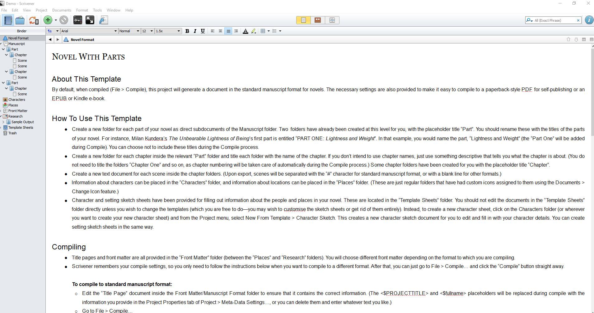 Scrivener initial file created.jpg