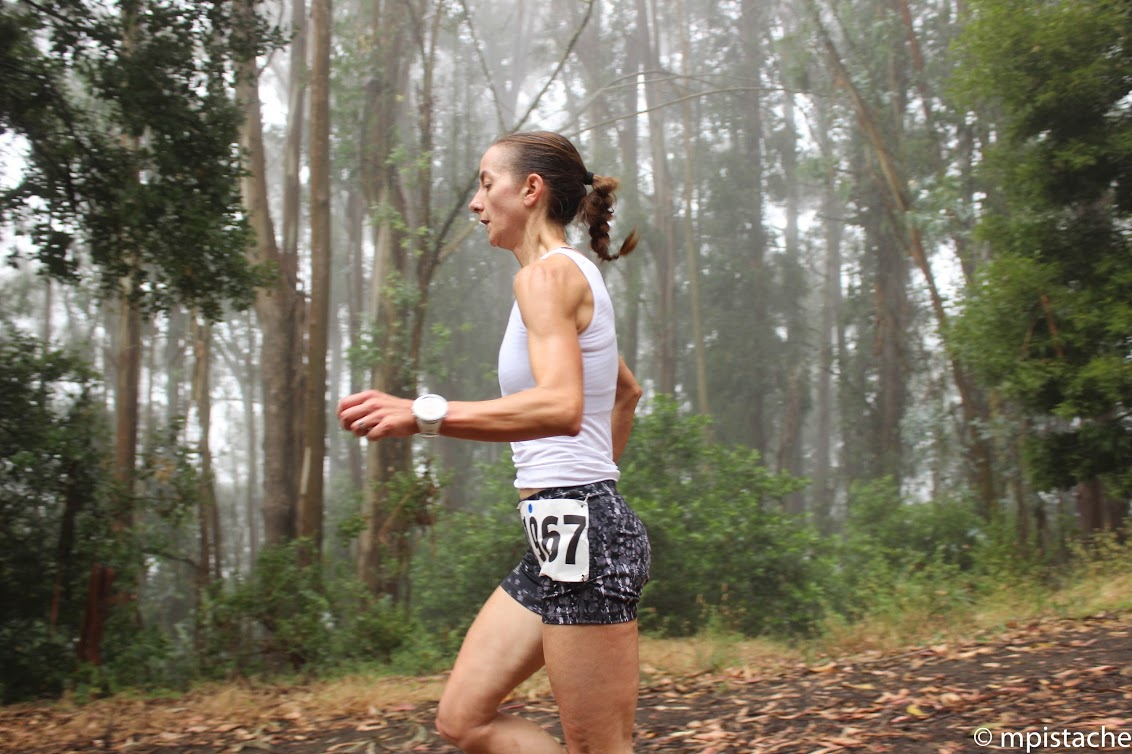 Robinson got her competitive running start in trail and ultramarathon racing.  Photo: @mpistache.
