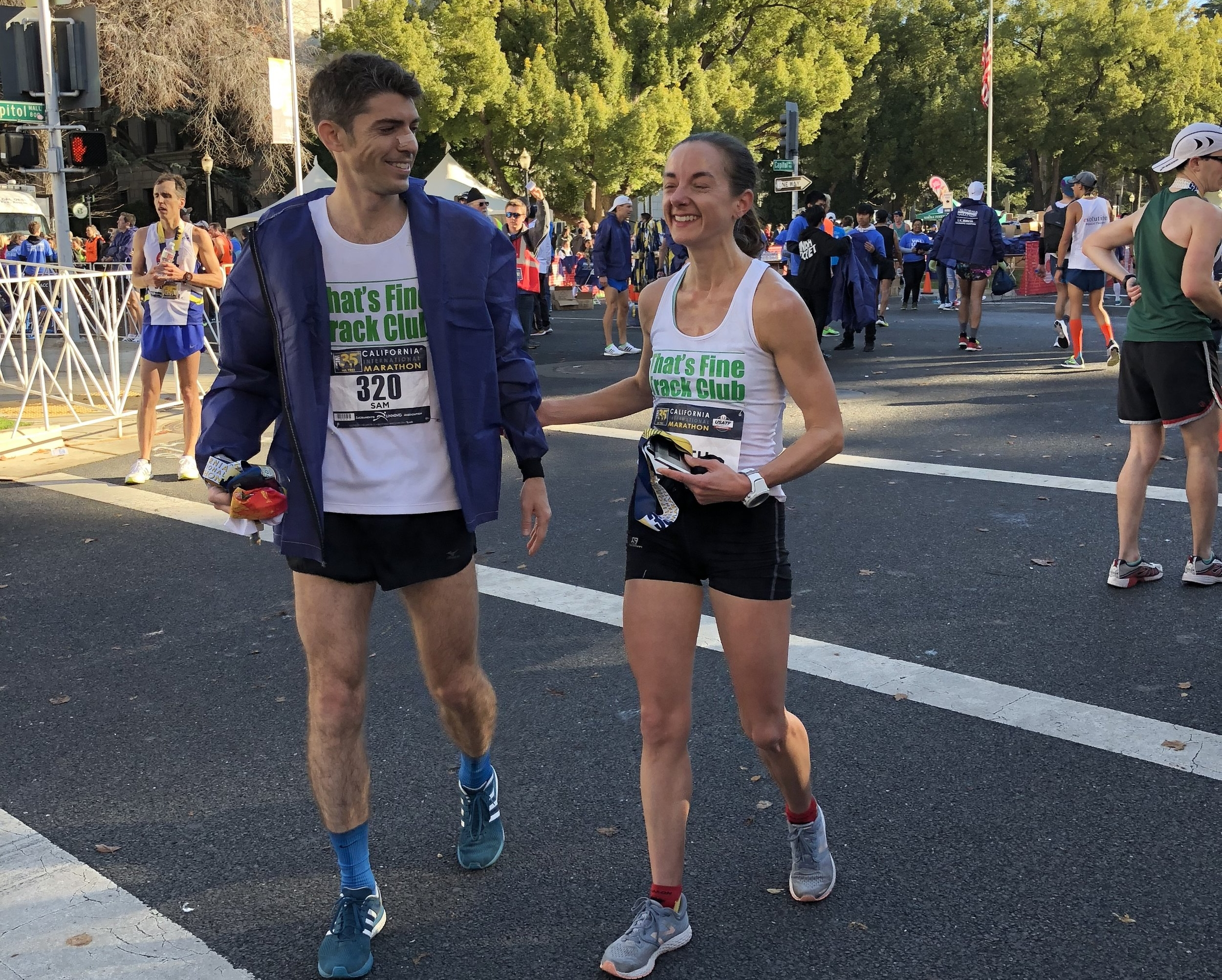 Robinson finished agonizingly close from the Olympic Trials standard at the 2017 Cal International Marathon.