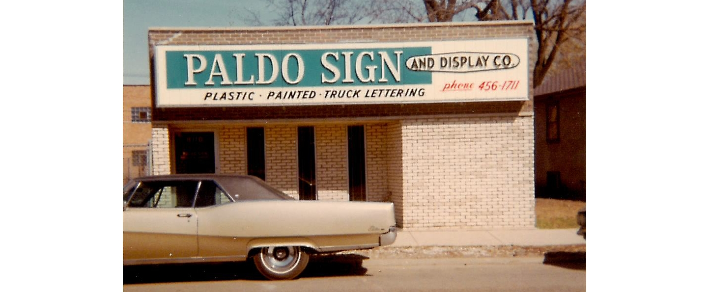 Our shop in 1968