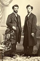 Reverend oscar p. McMains (left)