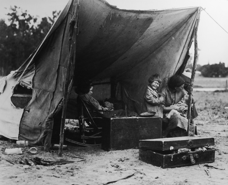 Dorothea Lange  Photo: The Dorothea Lange Archive, Oakland Museum