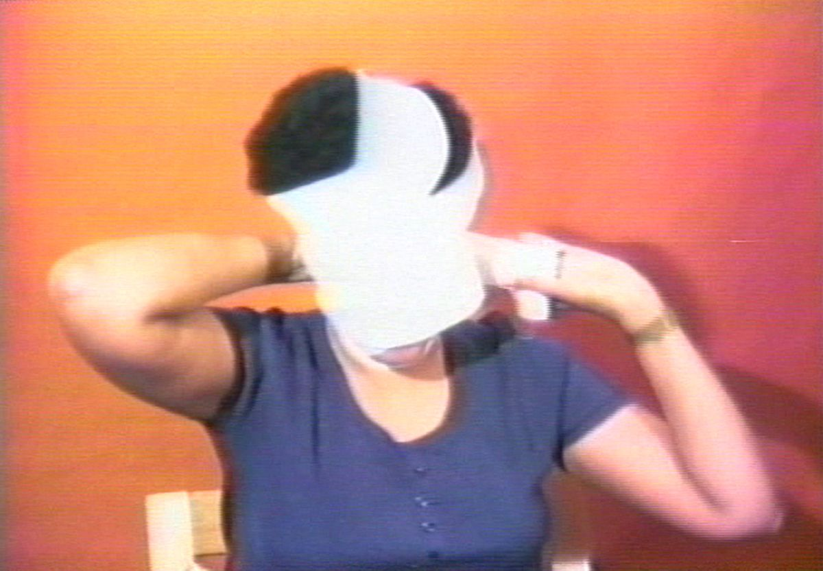 Howardena Pindell,  Free, White, and 21  (1980)